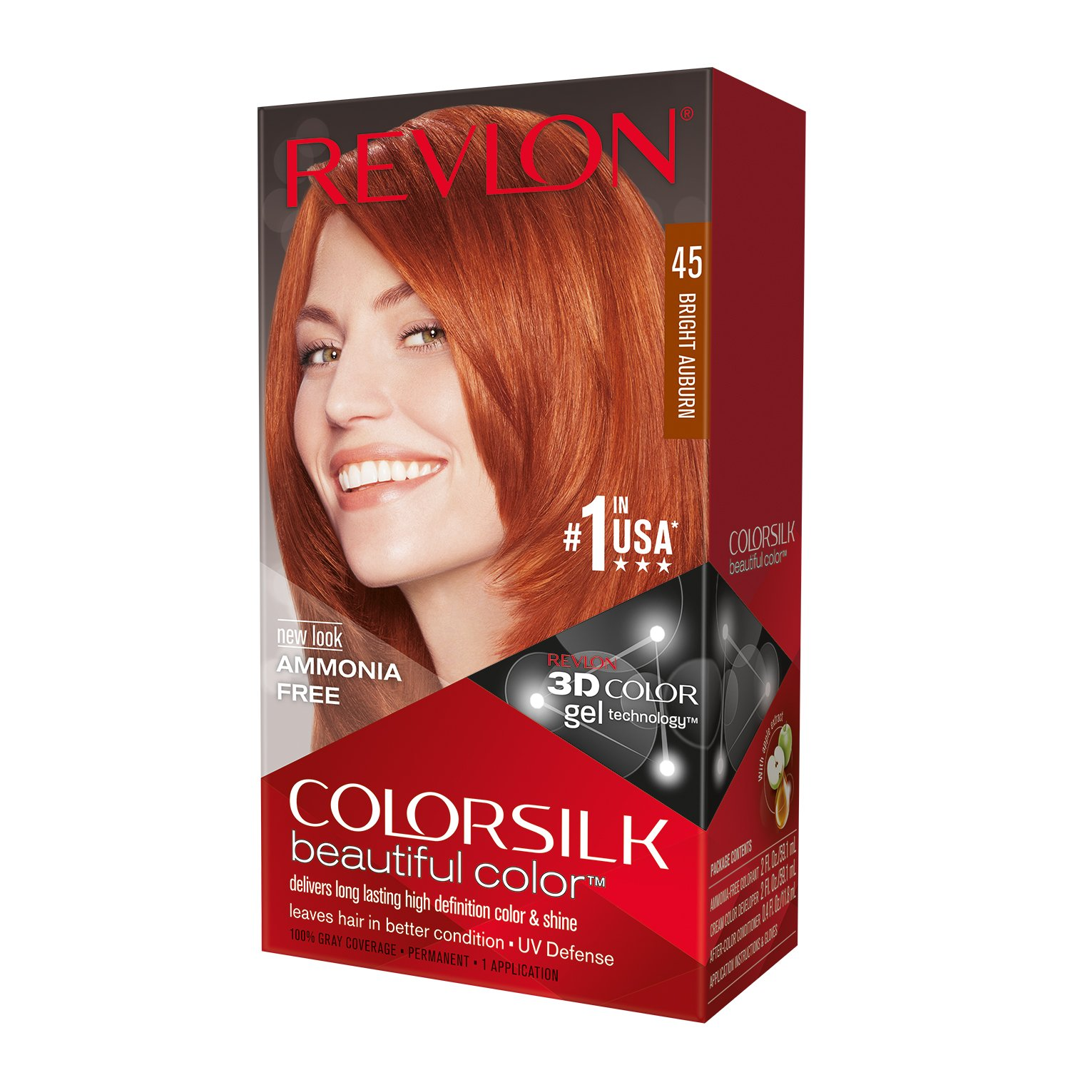 Amazon Revlon Colorsilk Beautiful Color Bright Auburn