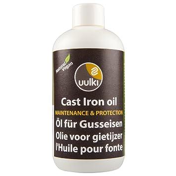 Uulki Natürliches Gusseisen Öl Conditioner Einbrennpaste für ...