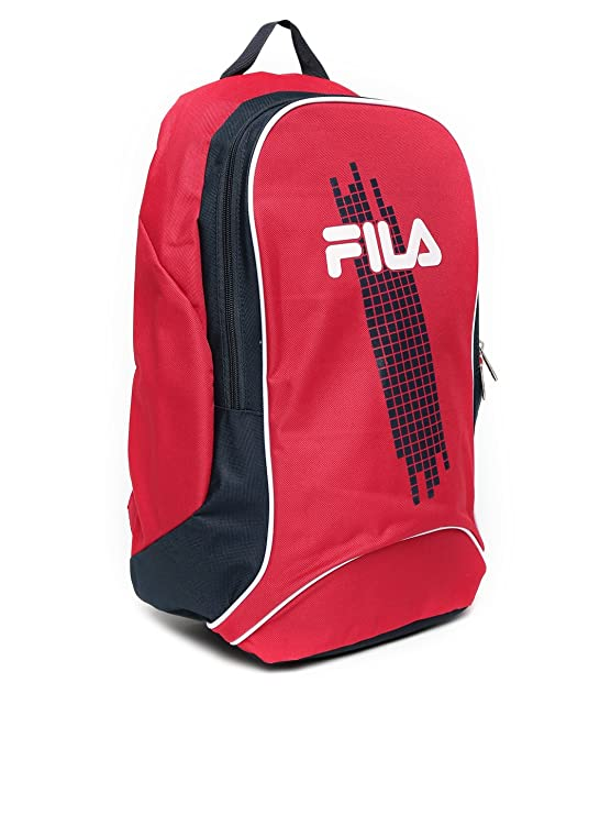 64d5e67ff601 FILA UNISEX RED   NAVY BACKPACK  Amazon.in  Computers   Accessories