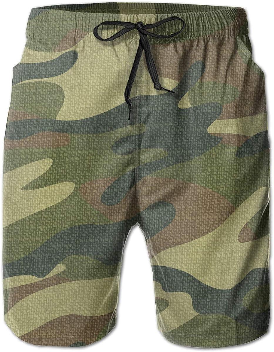 Creative6 Mens Casual Classic Fit Short Summer Beach Shorts
