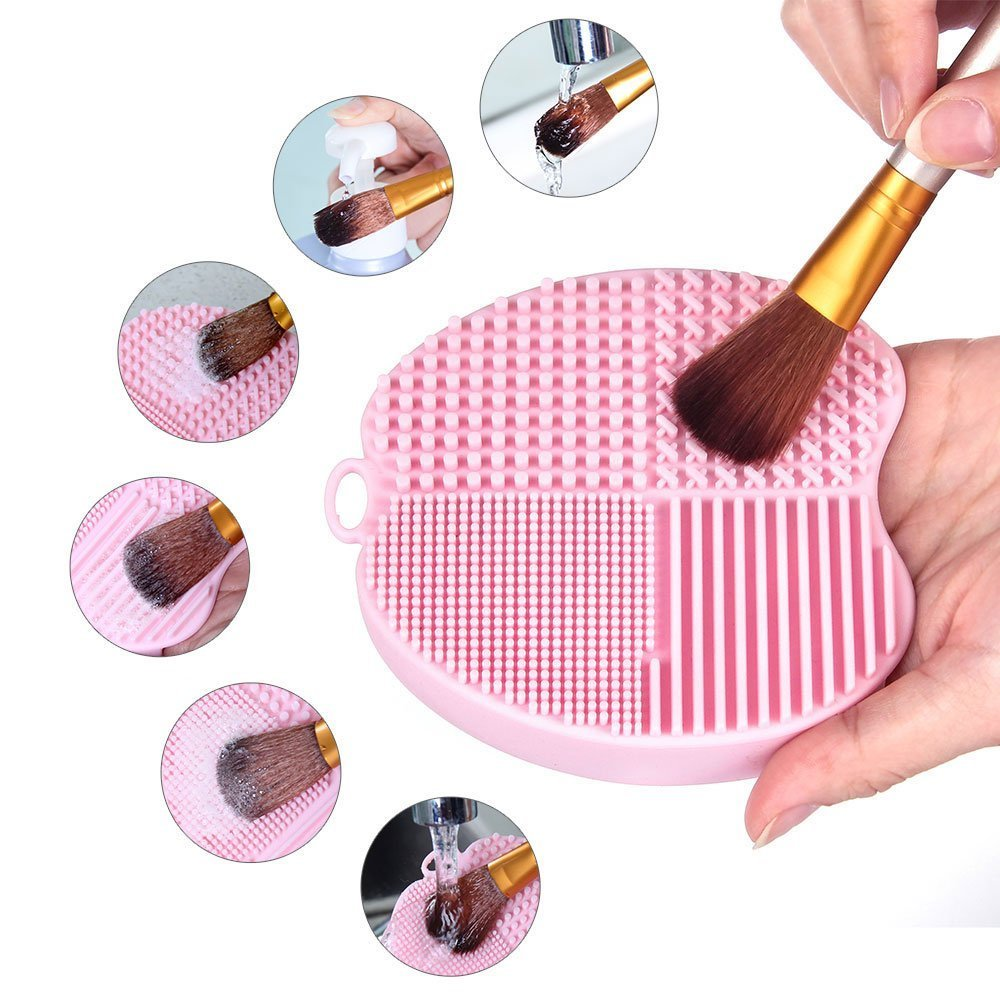 MelodySusie Makeup Brush Cleaning Glove