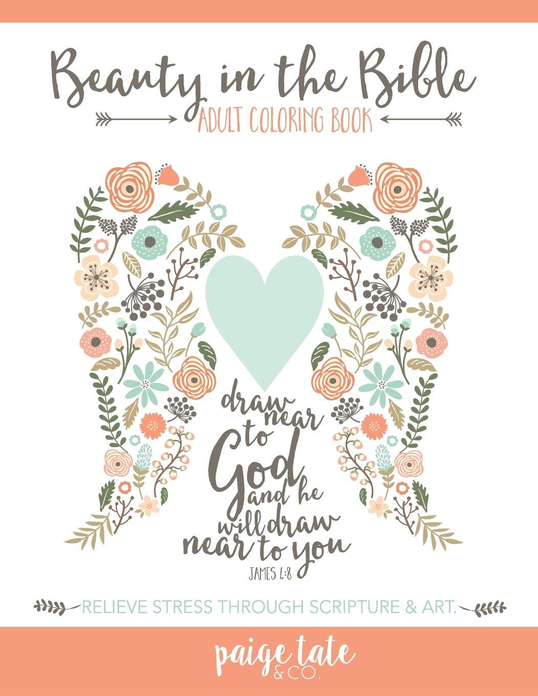 - Amazon.com: Beauty In The Bible: Adult Coloring Book