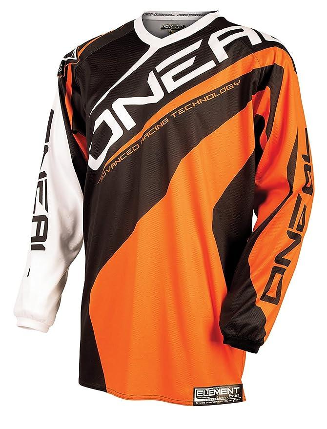 0024R-403 Oneal Element 2015 Racewear Motocross Jersey M Orange