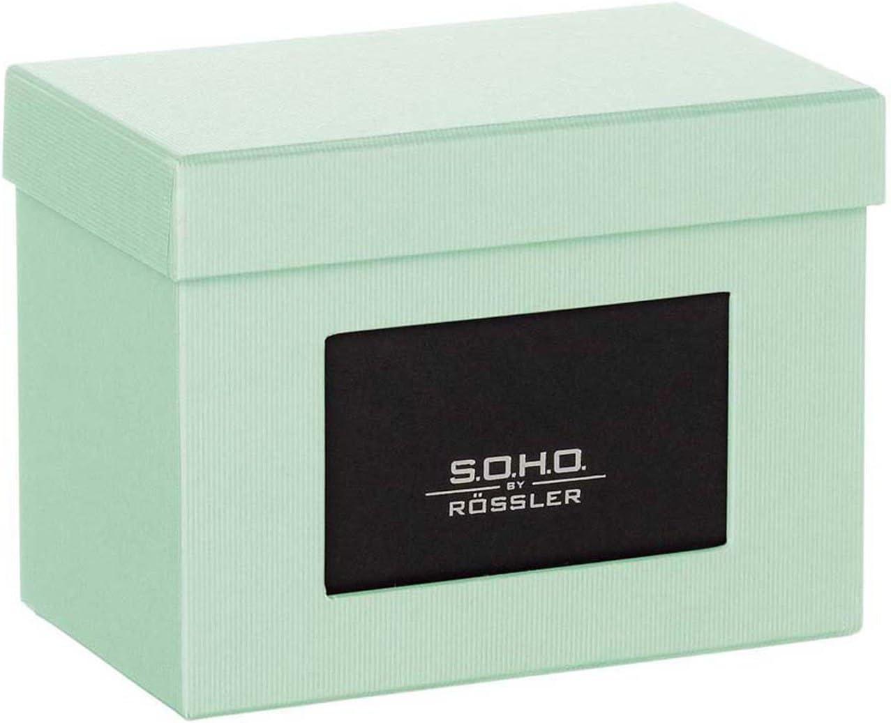 R/össler SOHO 165mm x 125mm Photo Box avec Aperture Bleu clair