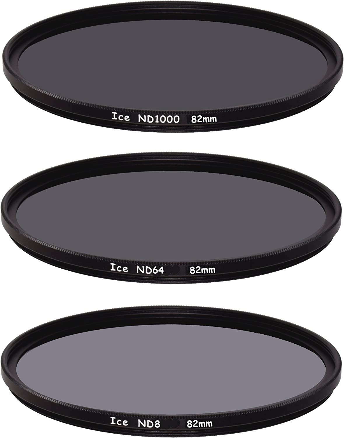 Neutral Density Professional Photography Filter H-K9L Glass Weather-Sealed MRC8 Breakthrough Photography 72mm X2 3-Stop Fixed ND Filter for Camera Lenses Nanotec Ultra-Slim