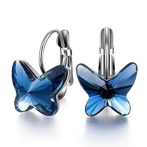 pendientes mariposa amazon