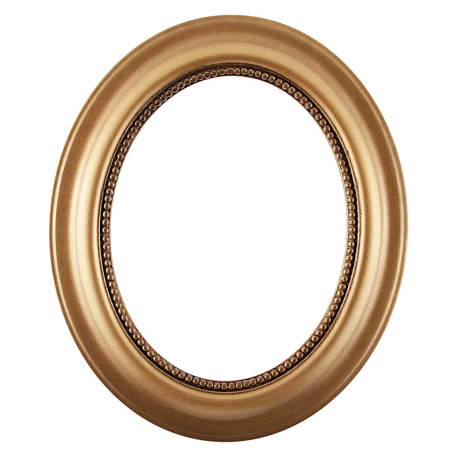 Oval Wall Mirror for Home Decor, Bedroom, Living Room, Bathroom |  Decorative Framed Beveled Mirror | Heritage Style - Desert Gold - 21x25  Inch Outside ...