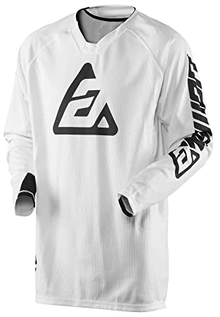 Answer Racing A18 Syncron Mens Off-Road Motorcycle Jerseys Yellow//Blue//Large