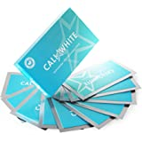 Cali White TEETH WHITENING STRIPS, 6% Hydrogen Peroxide Gel, Enamel Safe, Easy & Convenient Home Kit includes 14 Treatments (28 Strips) with a Fresh Mint Flavor