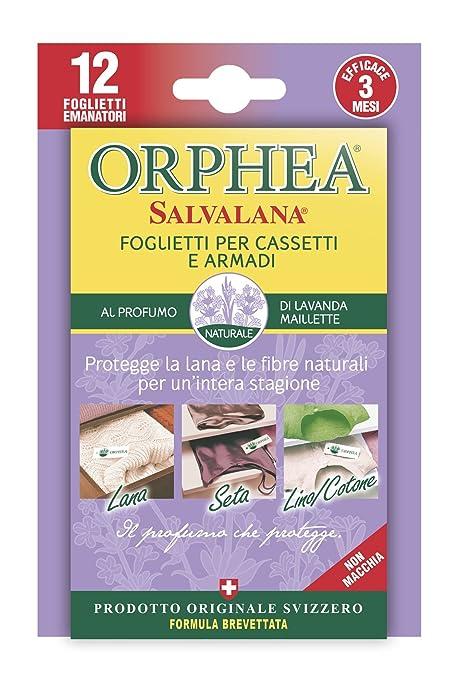 12 opinioni per Orphea salvalana foglietti Anti Tarme al profumo naturale di lavanda