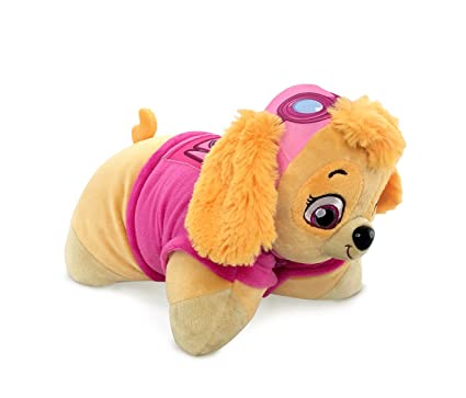 Amazon.com: Paw Patrol Depp – Almohada Mascota Skye – en 1 ...
