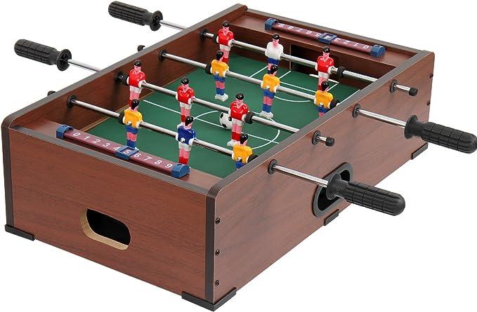 Jago Mesa multijuegos 5 en 1 (futbolín, billar, ajedrez, backgammon, tenis de mesa) – color haya – dos colores a elegir: Amazon.es: Juguetes y juegos