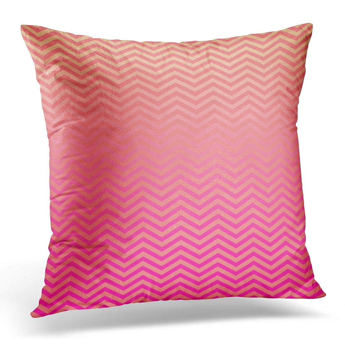 Amazon Com Emvency Throw Pillow Covers Case Pink Peach Ombre