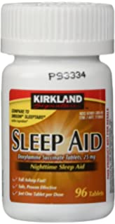 Kirkland Signature Sleep Aid 25mg