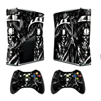 Designer Decal Sticker for Xbox 360Slim System & Remote Controllers–Reaper