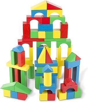 Melissa & Doug Fun Durable Wood Blocks
