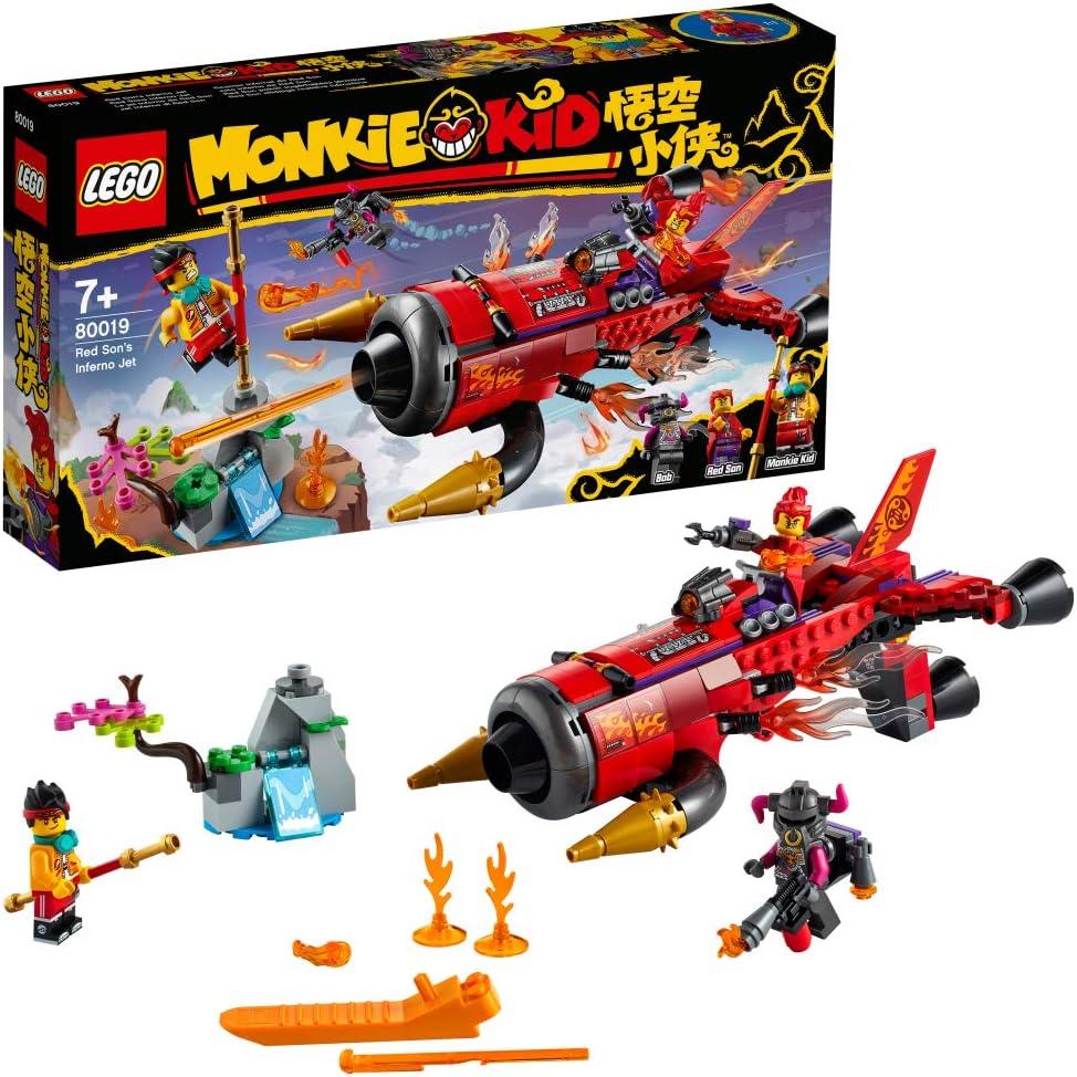レゴ(LEGO) モンキーキッド レッドサンのブラスター・ジェット 80019