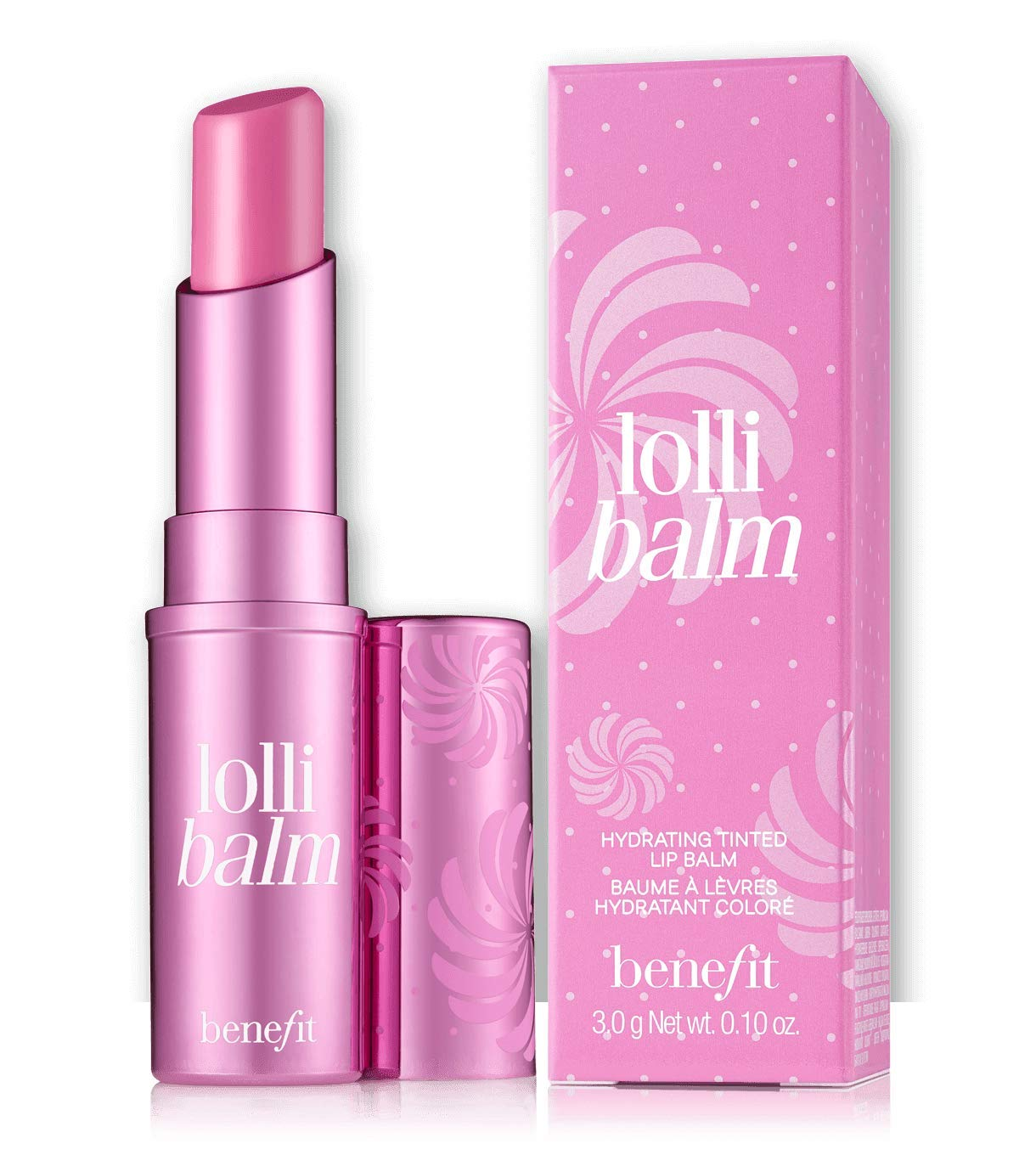 Benefit Cosmetics Lollibalm Hydrating Candy Orchid Tinted Lip Balm 0.10 oz