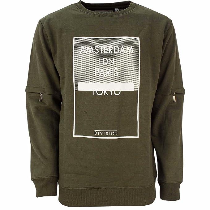 SoulStar Men's Amsterdam Tokyo Travel City Zip Sleeve Peach