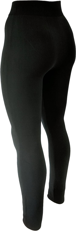 Umstands-Leggings Damen Thermo- Leggings f/ür die Schwangerschaft Unbekannt 2er Set Blickdicht