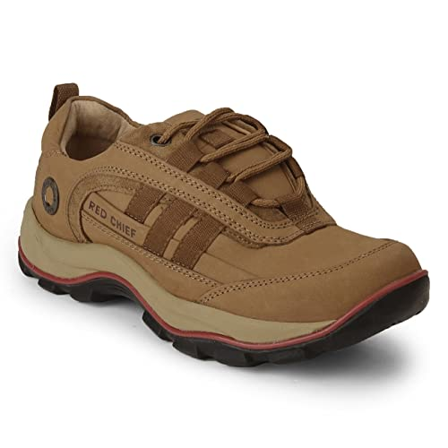 Red Chief RUST Lace Up Men Casual Shoes Shoes Men's Boat Shoes at amazon
