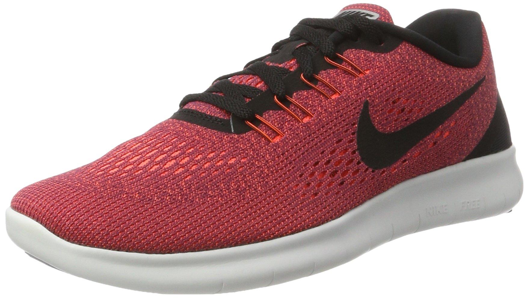 NIKE Free RN Mens Running Trainers 831508 Sneakers Shoes (UK 6 US 7 EU 40, Hyper Orange Black 803)