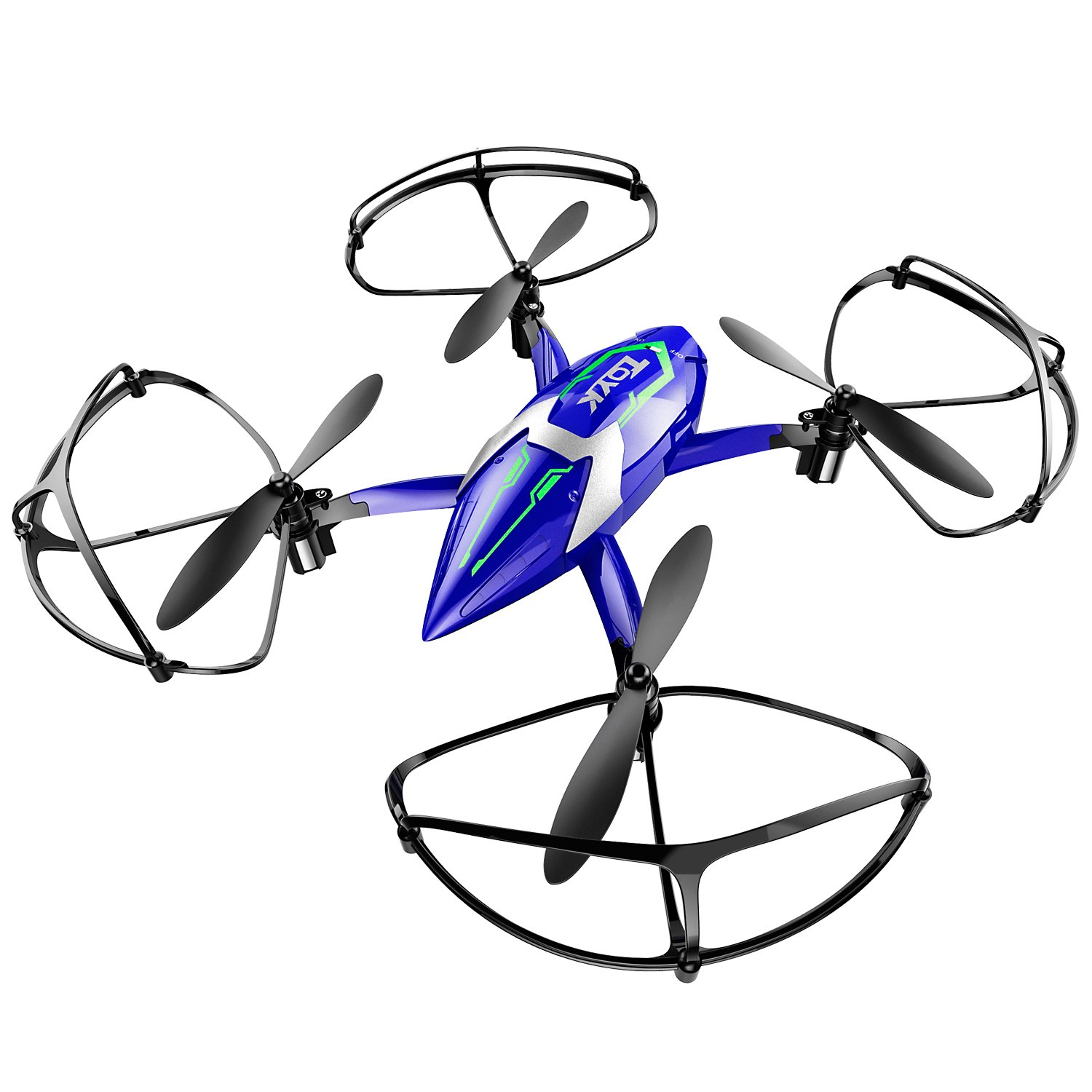 Toyk Drone 24ghz 6 Axis Gyro 4 Channel Quadcopter Hula Hoop Circuit Game A Circle Of Friends Try To Advance Hulu Mini Rc Helicopter Good Choice For Training Toys Games