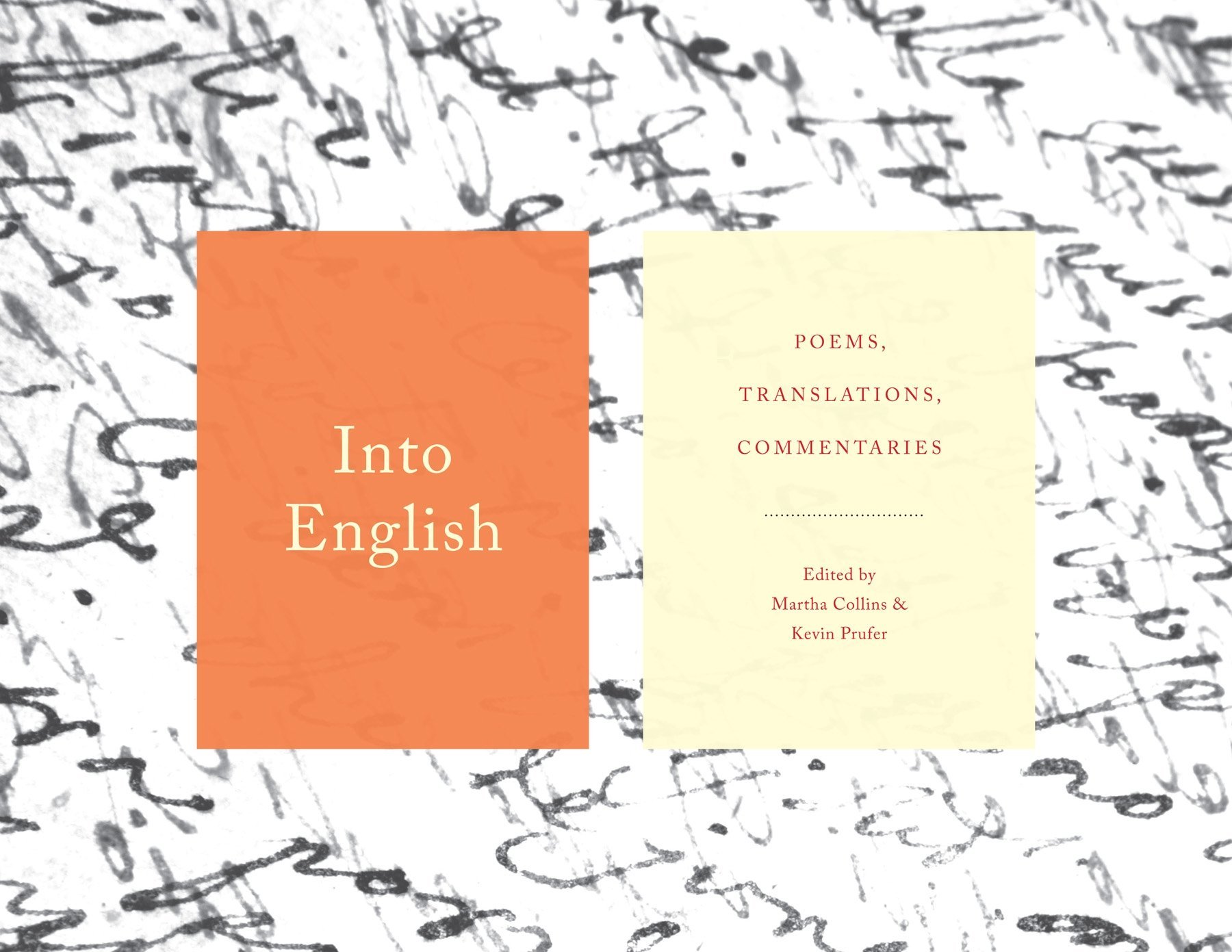 Download Into English: Poems, Translations, Commentaries ebook