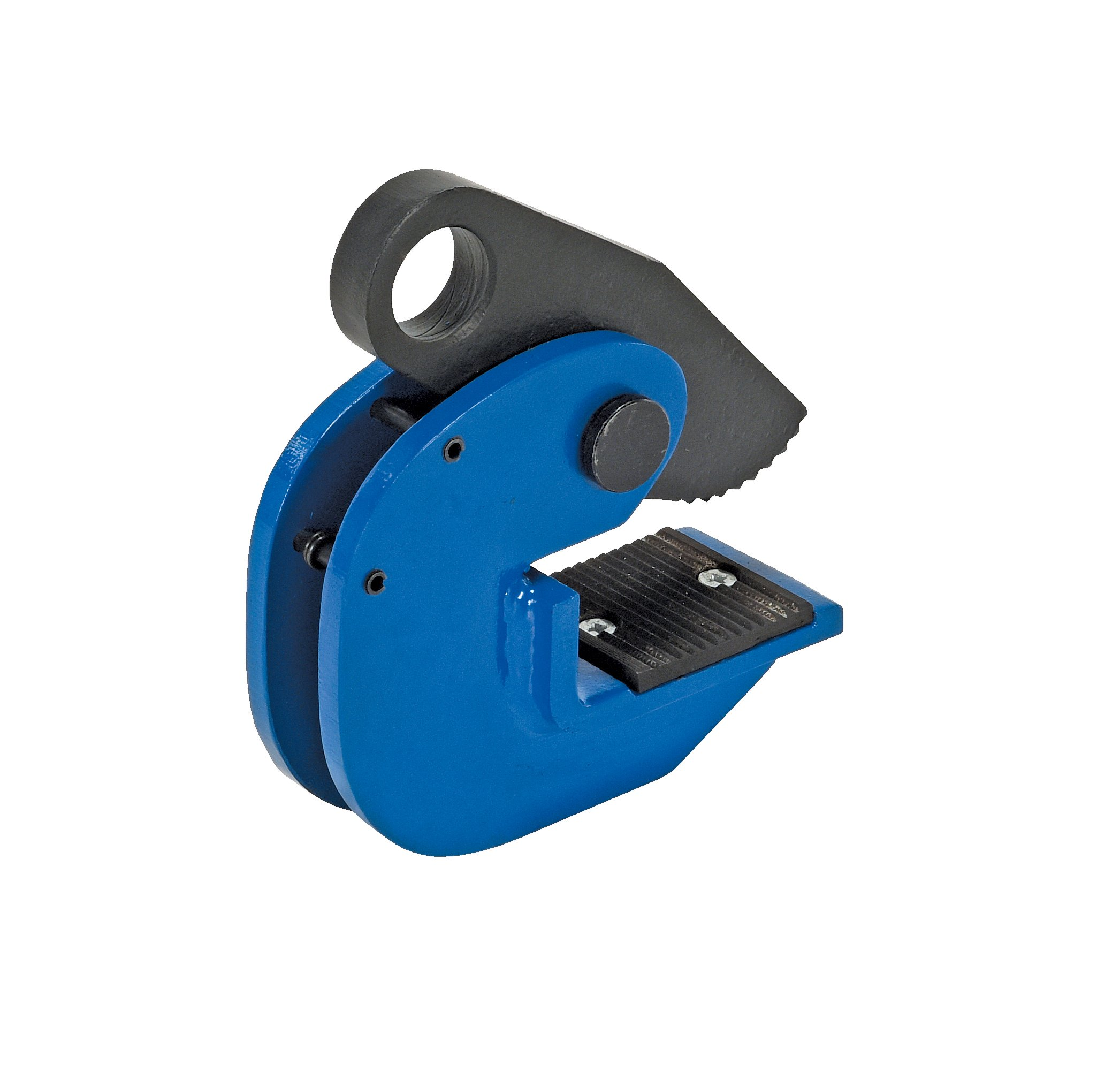 Vestil HPC-20 Horizontal Plate Lifting Clamp, Steel, 13/16'' Plate Thickness, 2000 lbs Working Load Limit, 1.2'' Bale Opening