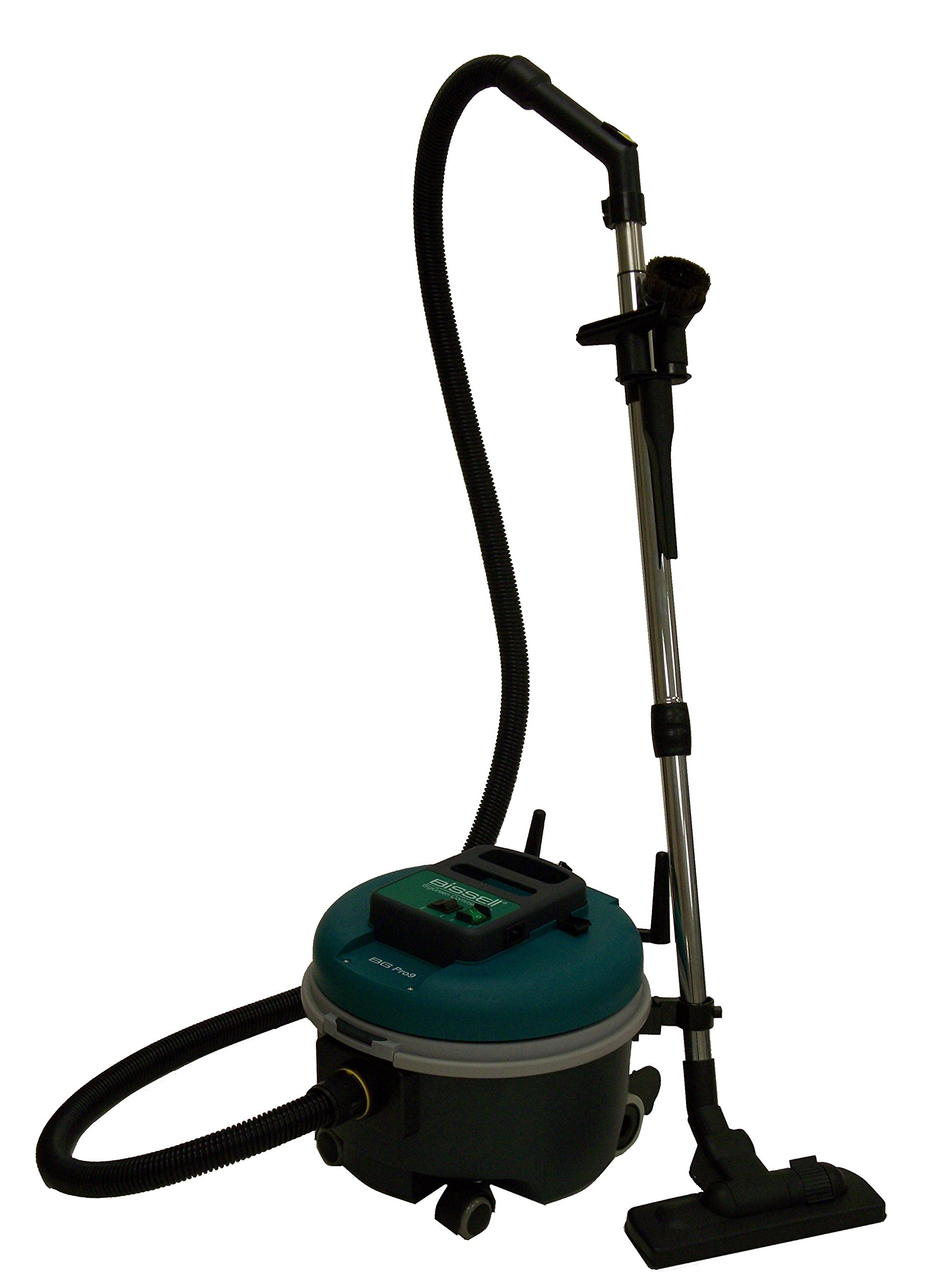BISSELL BigGreen Commercial Bagged Canister Vacuum, 7.3L Bag Capacity, Green by Bissell