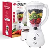 Quest 4 Speed with Pulse Control Blender with Grinder Mill, 1.5 Litre, 350 W