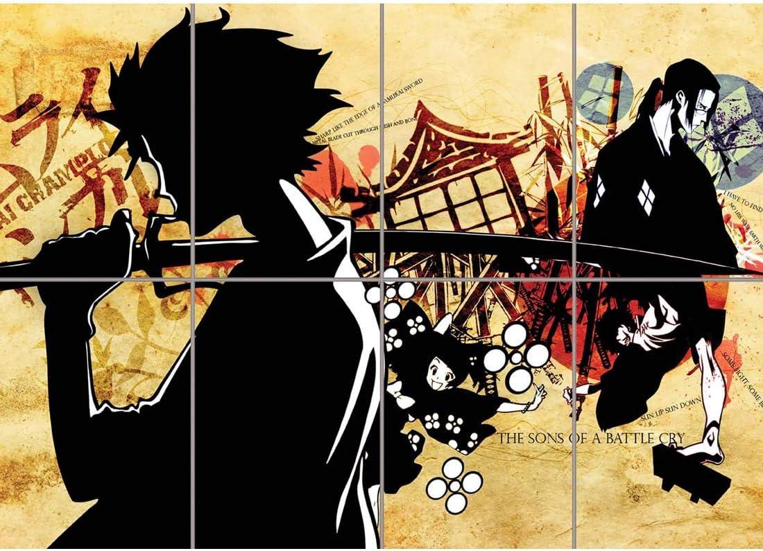 Doppelganger33 LTD Samurai Champloo Anime Poster - Jin Mugen Giant Art Print MR085