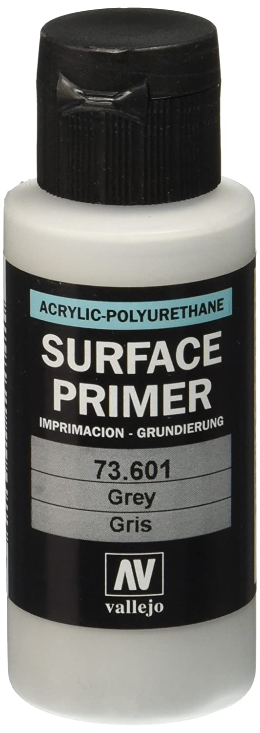 amazon com vallejo grey primer acrylic polyurethane 60ml toys games