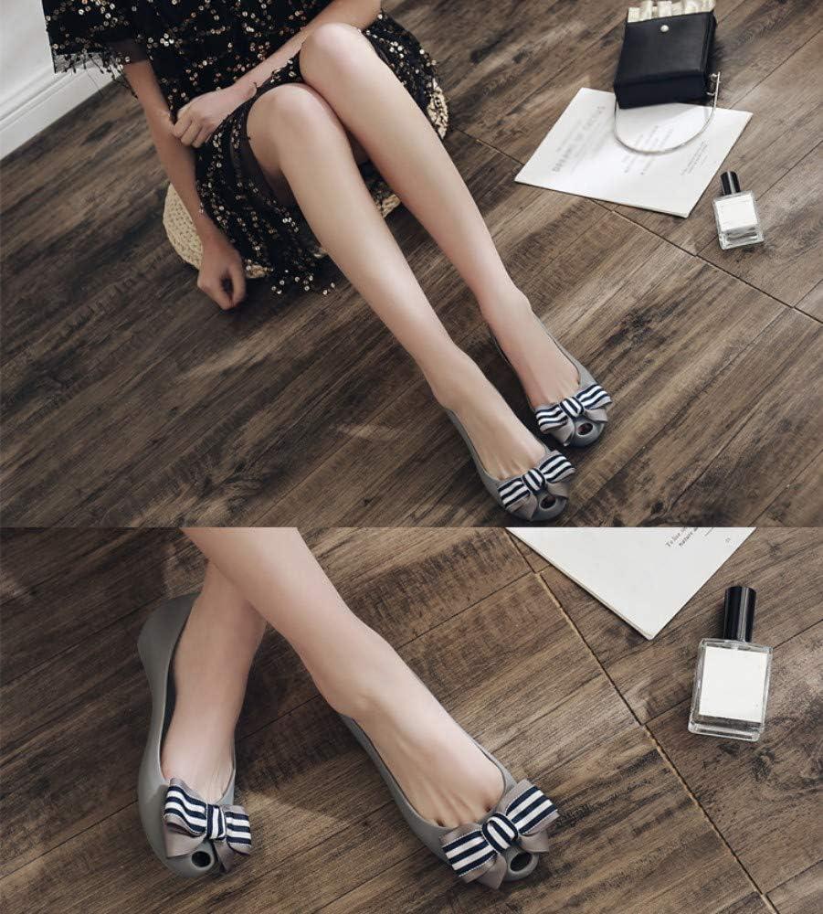 XL_nsxiezi Chaussures d'été pour Femmes gris