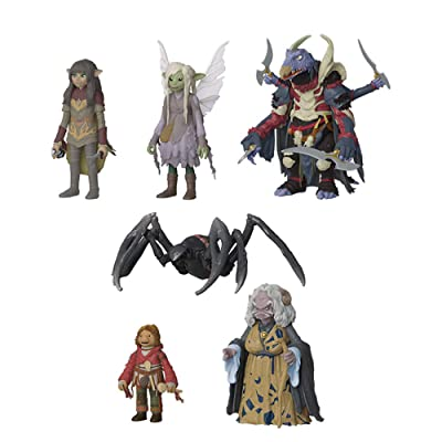 Funko Action Figure: Bundle of 6: Dark Crystal - Rian, Deet, Hup, The Hunter, Aughra and Silk Spitter: Toys & Games