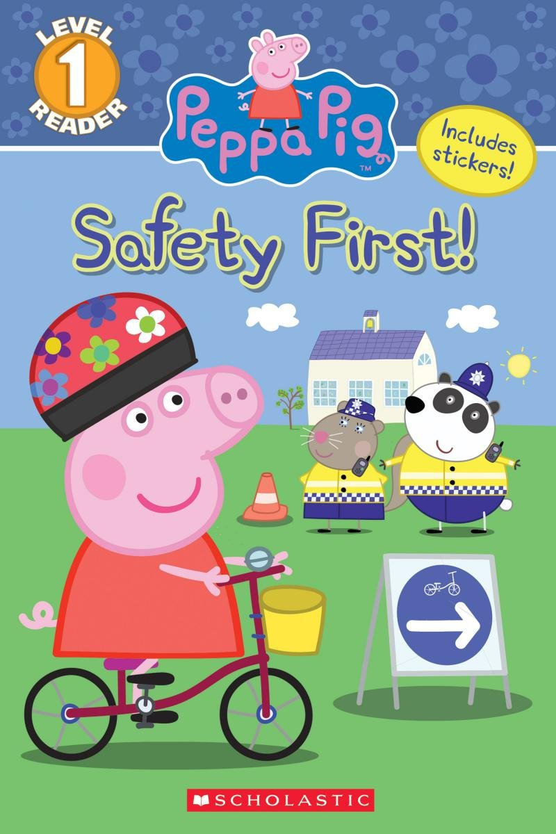 Safety First Peppa Pig Reader product image