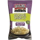 Boulder Canyon Authentic Foods Kettle Cooked Potato Chips, Avocado Oil Canyon Cut Malt, Vinegar & Sea Salt, 5.25 Ounce