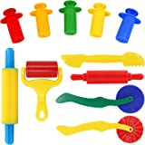 SySrion Smart Air Dry Clay & Dough Tools Kit 11 Piece Assortment - Ages 3 & Up