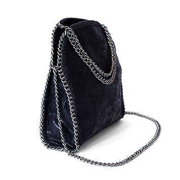 Amazon.com  Shoulder Bag with Chain Strap Women Hobo Nylon Crossbody Bag  Foldover Large Clutch Handbags for Women Large Casual Tote  BESTTONE 3e07b7c398a7