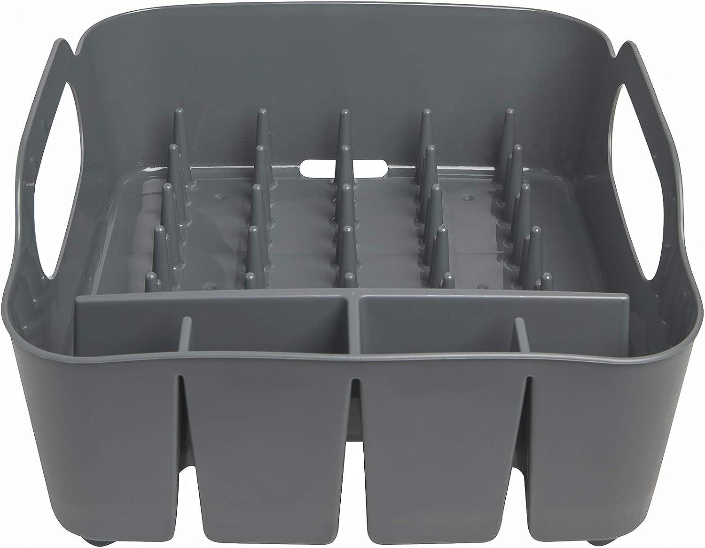 Umbra 330590-582 /Escurridor de platos y vasos 36x32,5x15,5cm color negro