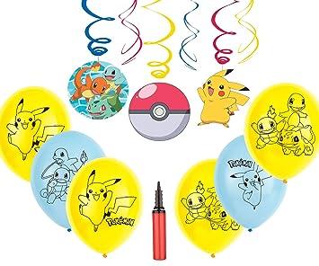 Pokemon Party Decoration Kit Celebraciones de cumpleaños ...