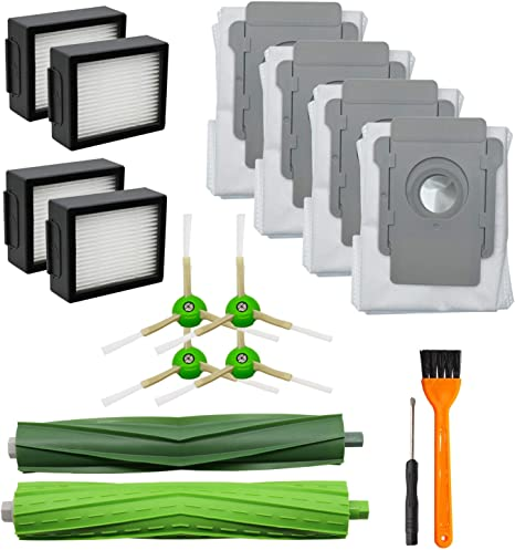 13 Pack Replacement Parts For iRobot Roomba i7 i7+//i7 Plus E5 E6 Cleaner Clean