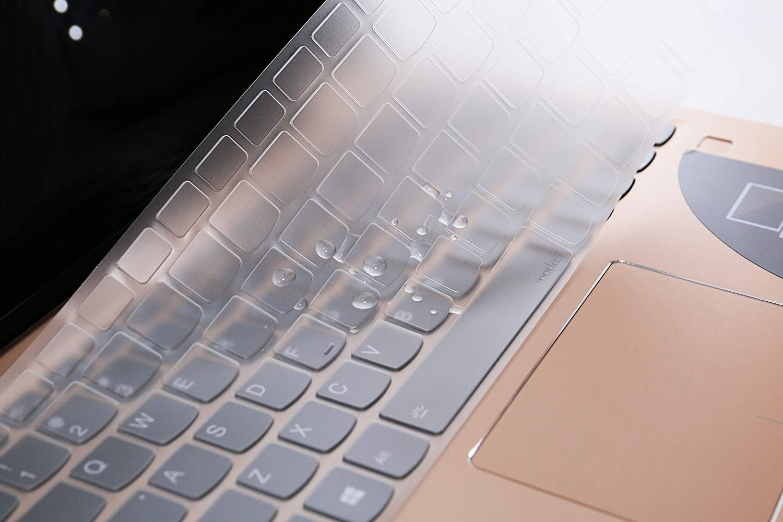 Yoga 720 12.5 Premium Ultrad/ünne Tastaturh/ülle f/ür Lenovo Yoga 730 13.3 Yoga 720 13.3 TPU S730 13.3 Touch-Screen Notebook Yoga 730 15.6
