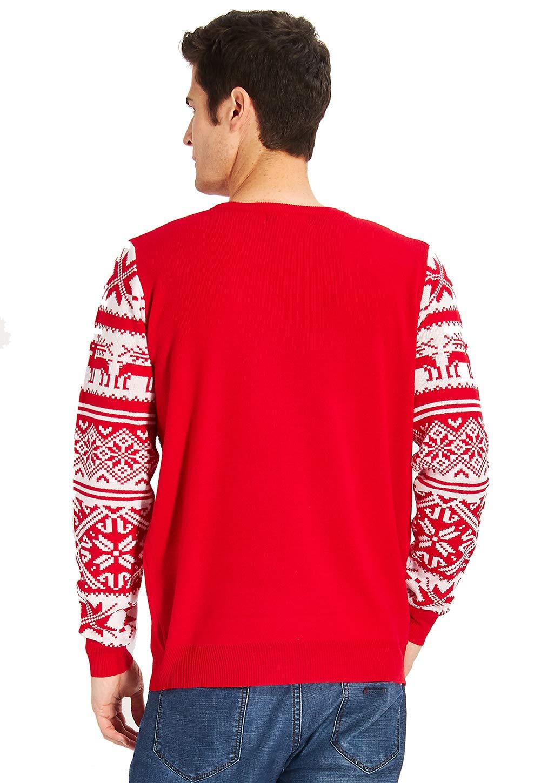 Loveternal Kinder Christmas Sweater Funny Dog Pullover Jungen Knit Familie Weihnachten Jumper für Jungen Mädchen Alter 11-12 Jahre