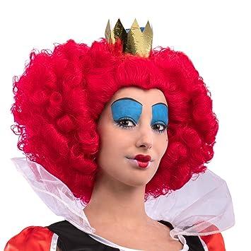 Carnival Toys 2309 Peluca Reina de Corazones, One Size