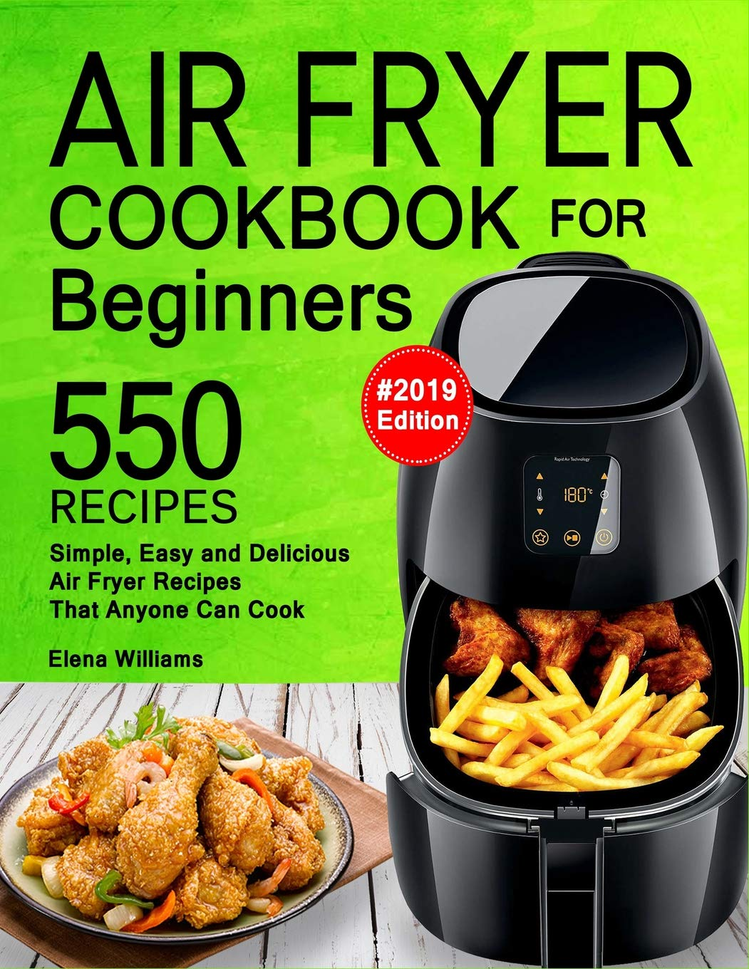 Air Fryer Cookbook Beginners Delicious product image