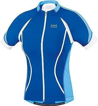 GORE WEAR Full Zip Short Sleeve Road Cycling Lady Gore Bike Wear Women s  Oxygen FZ Jersey 0cebc7d53