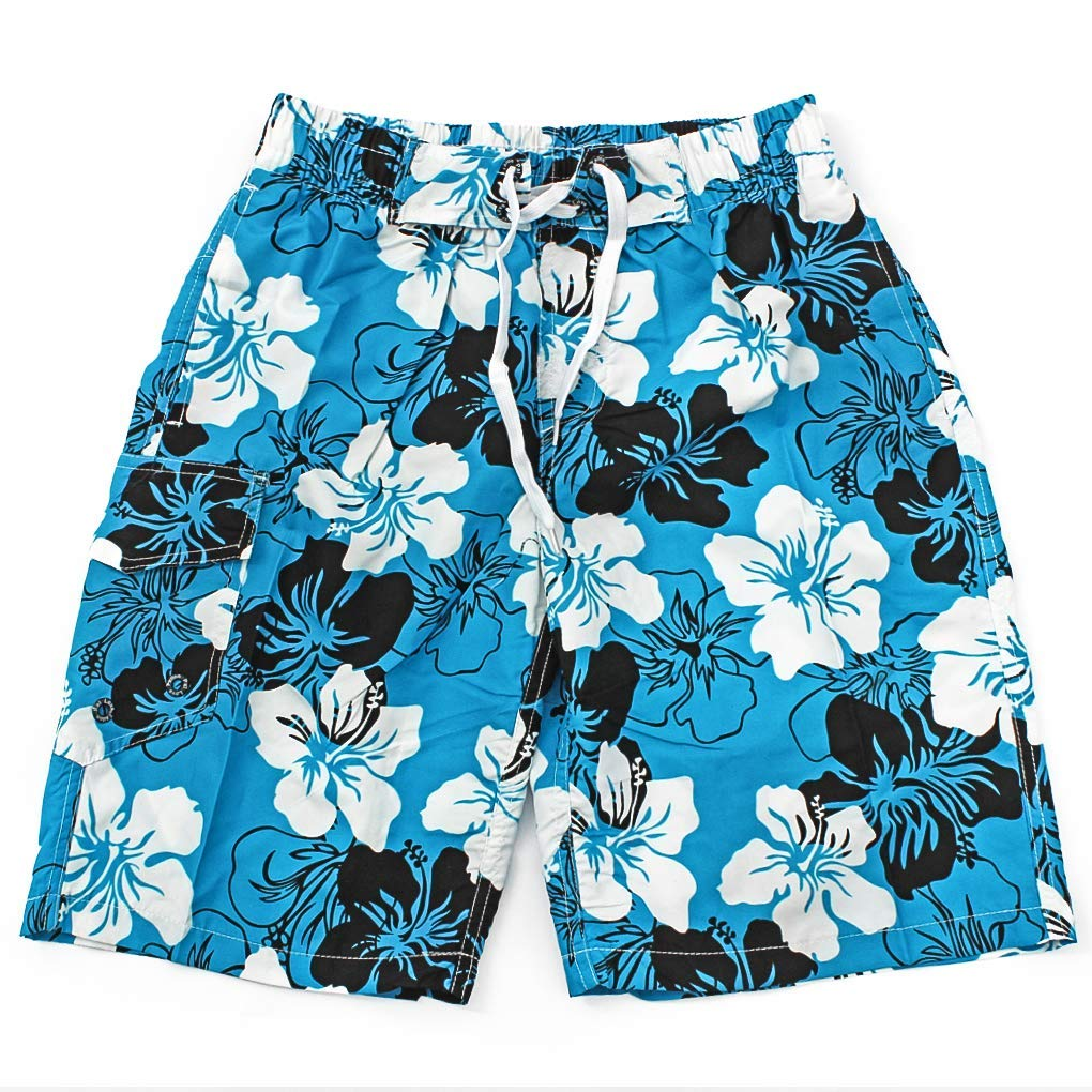 Hawaii Great for Beach Vacation Pool Party /& Surfing Quick Dry Board Shorts Lohastour Men/' s Swim Trunks