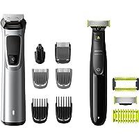 Philips MG9710/90 Recortadora de barba 12 en 1 Maquina recortadora de barba y Cortapelos para hombre, óptima precisión…