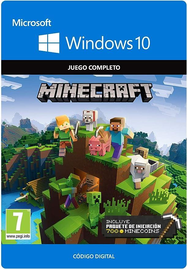 Minecraft - Windows 10 Starter Collection, PC, Online Game Code: Amazon.es: Videojuegos
